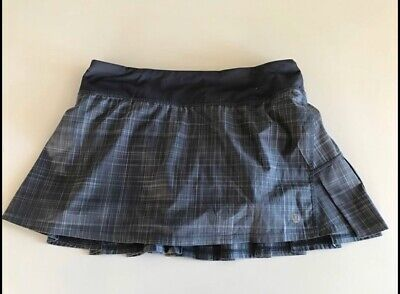Lululemon Pace Rival Skirt Size 6 Pleated