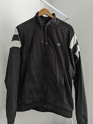 Fred Perry Monochrome Tennis Shell Jacket Size M