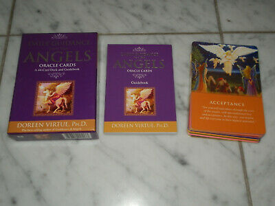 Daily Guidance from Your Angels Oracle Cards: 44 Cards & Book by Doreen Virtue