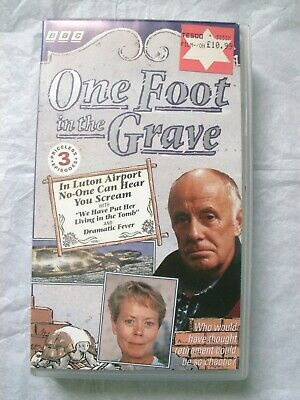 One Foot in the Grave - In Luton Airport No-One Can Hear You Scream VHS Video