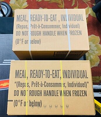 2022 WORNICK MRE Boxes Cases A&B: US Military Emergency Survival Hunter Prepper