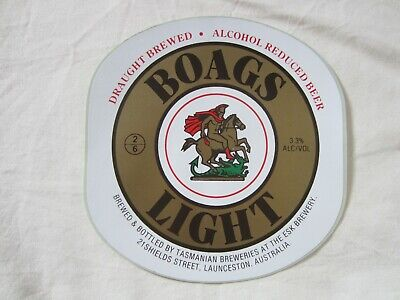 Genuine Vintage Original Boags Beer Decal - Selling Other Decal Stickers