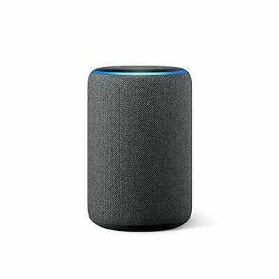 All-new Amazon Echo (3rd generation) | Smart speaker with Alexa, Charcoal Fabric