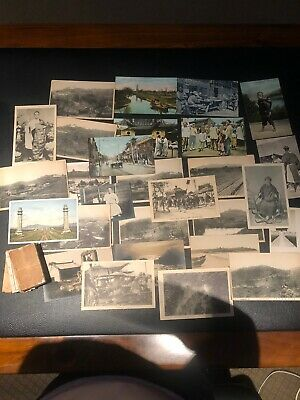 19th Chinese 29 postcards and six small books