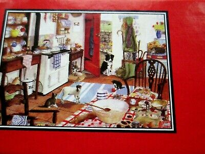 Jigsaw Farmhouse Kitchen House of Puzzles  1000 Complete
