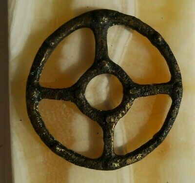 "Pendant ""Ancient Viking"", copper, amulet ""Sun"" 12-13 century. (For restoration)"