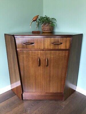Vintage mid century E Gomme G Plan Brandon Home Office Bureau desk cabinet unit