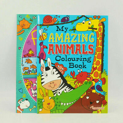 Animals/Pets Colouring Book Activity Books Childrens Games Kids Drawing