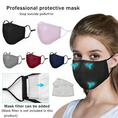 UK STOCK Reusable Face Cover Mouth Nose Covers Protection Covers