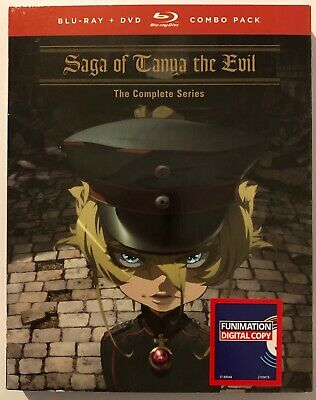 Saga of Tanya the Evil: the Complete Series Blu Ray + DVD New & Sealed Anime