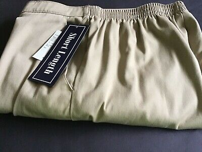 Laura Scott, Slacks, 10 Short, Perfect Khaki Color, NWT