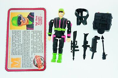 Toymax Vintage 1991 M-PACT Action figures Complete With ID Card Various choice