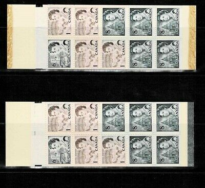 Canada  Scott Booklet 544S  Mint Never Hinged Clear and Black Seal Tagged