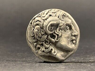 Ancient Greek Coin Alexander The Great Silver Tetradrachm C. 336-322Bc 29Mm 8.2G