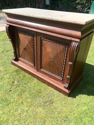 Victorian Marble Top Chiffonier