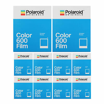 Polaroid Originals Instant Classic Color Film for 600 Cameras (10 Pack)