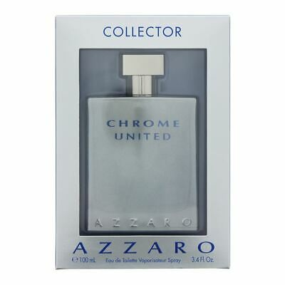 AZZARO CHROME UNITED Eau de Toilette 100ml Collector Men