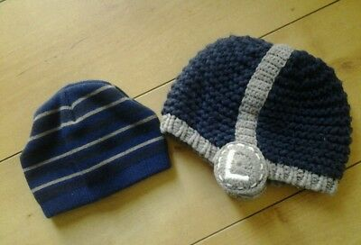 Boys Hat 12 -18 months Next Mothercare x 2