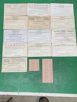 ADVERTISING Larkin & Co. COUPONS Catalog SOAP, Furniture, Clothing, Household
