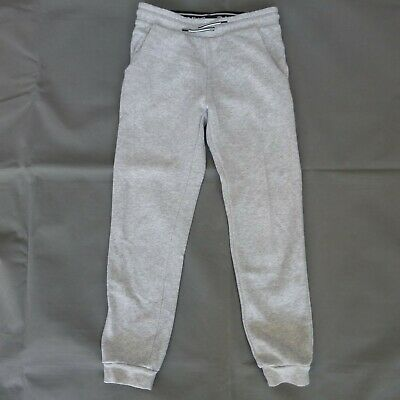 Girls H&M grey joggers jogging bottoms age 9-10 years