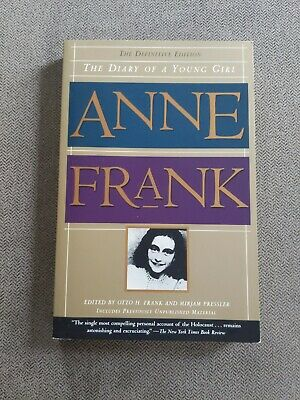 THE DIARY OF A YOUNG GIRL by Anne Frank (1996, Trade Paperback)