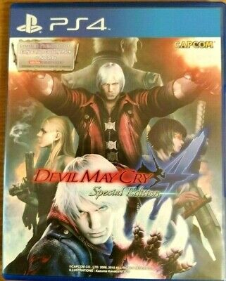 Devil May Cry 4 Iv Special Edition Playstation 4 Ps4  Gioco