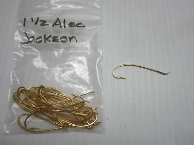 Blue Size 5 Alec Jackson Spey Fly Hooks by Partridge of Redditch