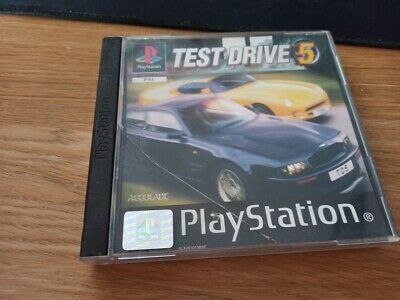 Test Drive 5 Sony Playstation 1 Ps1 Ps2 Game Official Uk Pal