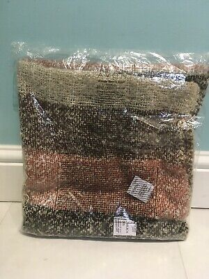 AVON Alannis Boucle Scarf New in Pack 100% Acrylic Warm Winter Scarf Brown Cream