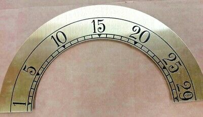 Hermle-Kieninger grandfather clock dial moon chapter ring 230 mm