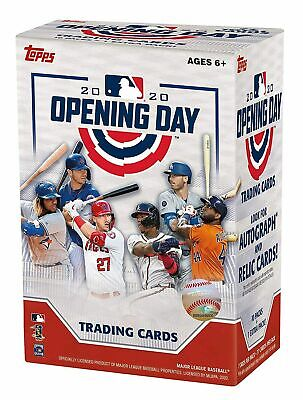 Topps 2020 Opening Day Baseball Retail Value Box (3 Boxes)