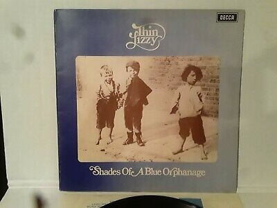 THIN LIZZY 'Shades of a Blue Orphanage' 1972 UK Orig. Decca LP-PHIL LYNOTT/RARE