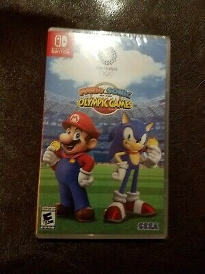 **Mario & Sonic at the Olympic Games Tokyo 2020 **Nintendo Switch [Sports] NEW