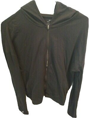 NIKE Dri-Fit Womens warm up hoodie Size M