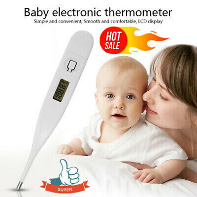 LCD Digital Thermometer For Baby Kid Adult Health Medical Thermometers Safe