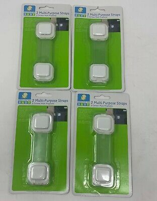 Especially For Baby Multi-Purpose Straps x4 Appliance Latch Baby Child proofing