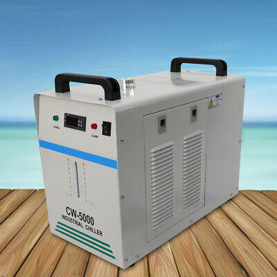 CW-5000DG INDUSTRIAL WATER CHILLER for 80W/100W CO2 Laser Tube / CNC Engraver