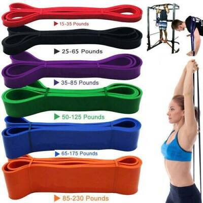 Resistance Bands Fitness Loop Natural Latex Exercise Yoga Home Gym Core Balance