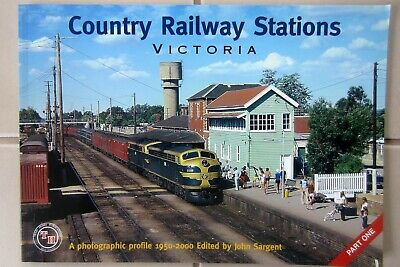 VR - COUNTRY RAILWAY  STATIONS VICTORIA - Part 1 - Train Hobby Pubiications