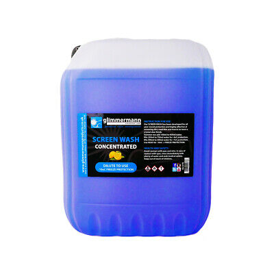 Glimmermann Winter Washer Fluid Screen Wash Concentrate 20L Effective to -20oC