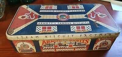 Arnotts Biscuit Tin William Arnotts Steam Biscuit Factory Newcastle