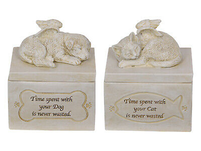 12Cm Dog/Cat Memorial Box