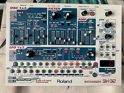Roland SH-32 (SH32 SH 32) Virtual Analog Synth