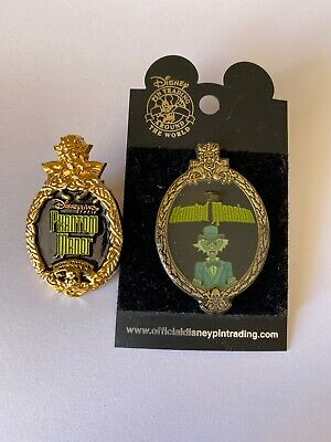 Lot De 2 Pins Disney Phantom Manor Et The Haunted Mansion Disneyland Paris WDW
