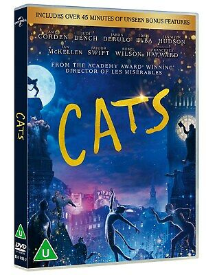 Cats [DVD] RELEASED 01/06/2020