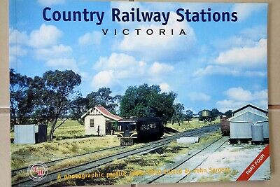 VR  COUNTRY RAILWAY STATIONS VICTORIA - Part 4 - Train Hobby Pubiications