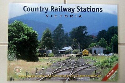 VR COUNTRY RAILWAY STATIONS VICTORIA  - Part 6 -Train Hobby Pubiications