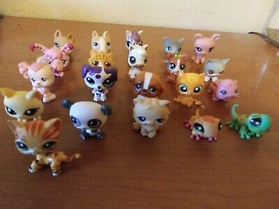 LITTLEST PET SHOP pets (lot of 21/all different) GREAT CONDITION/GREAT VALUE!