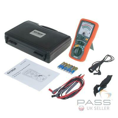 *NEW* Extech 380320 Analogue Insulation Tester Inc. Leads, Batteries and Case...