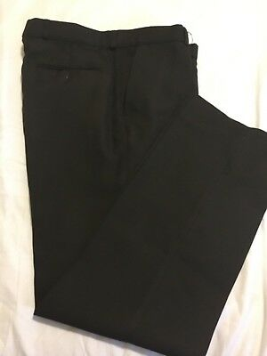 Vintage St Michael Men's Trousers/Pants Dark Brown Size 86cm/34""